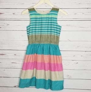 Arizona jean co 14/16 striped dress